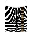 Barker Creek LL-1218L Peel and Stick Library Pocket, Zebra Leopard