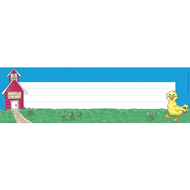 Barker Creek Duck Desk Tag, 12in. L x 3 1/2in. W