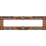 "Barker Creek Africa Desk Tag, 12"" L x 3 1/2"" W"