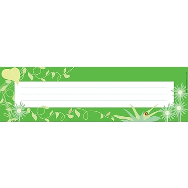 Barker Creek Go Green Desk Tag, 12in. L x 3 1/2in. W