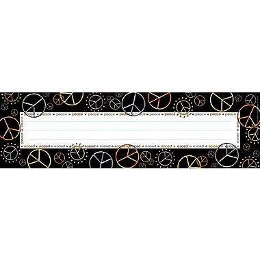 Barker Creek Peace Desk Tag, 12in. L x 3 1/2in. W
