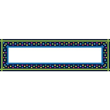 Barker Creek Italy Desk Tag, 12in. L x 3 1/2in. W