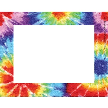 Barker Creek Tie-dye Name Tag, 3 1/2in. W x 2 3/4in. D