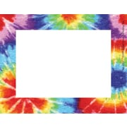 "Barker Creek Tie-dye Name Tag, 3 1/2"" W x 2 3/4"" D"