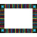 Barker Creek Neon Stripes Name Tag, 3 1/2in. W x 2 3/4in. D