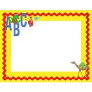 "Barker Creek ABC Animals Name Tag, 3 1/2"" W x 2 3/4"" D"