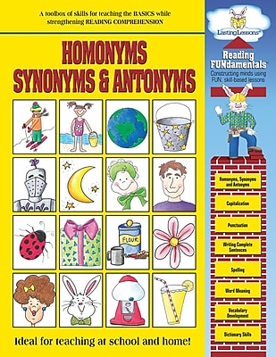 CHEAP Barker Creek Homonyms, Synonyms and Antonyms Activity Book, 48 ...