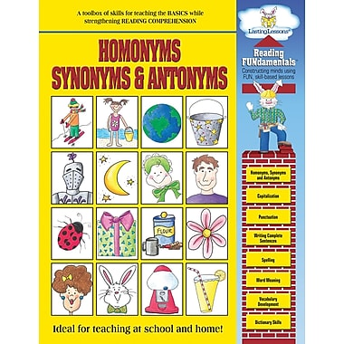 Barker Creek Homonyms, Synonyms and Antonyms Activity Book, 48 Pages