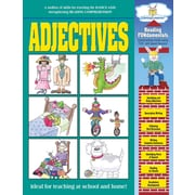 Barker Creek Adjectives Activity Book, 48 Pages