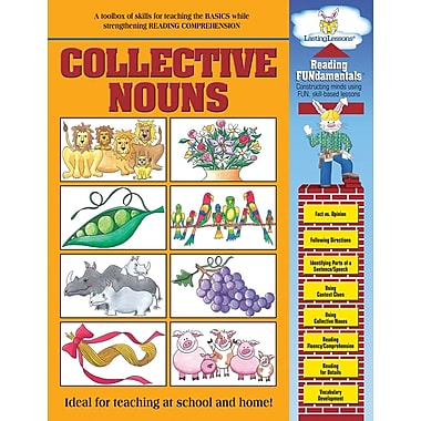 Barker Creek Collective Nouns Activity Book, 48 Pages