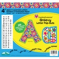 Barker Creek Groovy 4in. Letter Pop Out, All Age