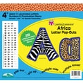 Barker Creek Africa 4in. Letter Pop Out, All Age