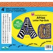 "Barker Creek Africa 4"" Letter Pop Out, All Age"