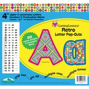 "Barker Creek Retro 4"" Letter Pop Out, All Age"