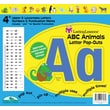 "Barker Creek ABC Animals 4"" Letter Pop Out, All Age"