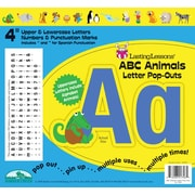 Barker Creek ABC Animals 4 Letter Pop Out, All Age