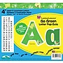 Barker Creek Go Green 4 Letter Pop Out,