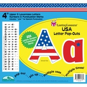 "Barker Creek USA 4"" Letter Pop Out, All Age"