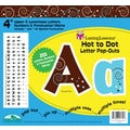 Barker Creek Hot to Dot 4in. Letter Pop Out, All Age