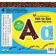 "Barker Creek Hot to Dot 4"" Letter Pop Out, All Age"