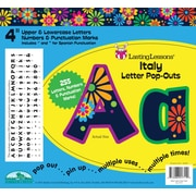 "Barker Creek Italy 4"" Letter Pop Out, All Age"