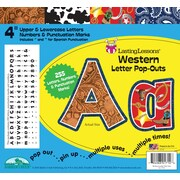 "Barker Creek Western 4"" Letter Pop Out, All Age"