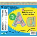 Barker Creek Pink Lemonade 4in. Letter Pop Out, All Age