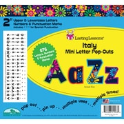 "Barker Creek Italy 2"" Letter Pop Out, All Age"