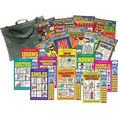 Barker Creek Zoobilee Reading Fundamentals Classroom Set with Free Portfolio, 7+ Age