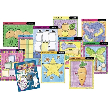 Barker Creek Graphic Organizer Classroom Set, Toddler - Adult