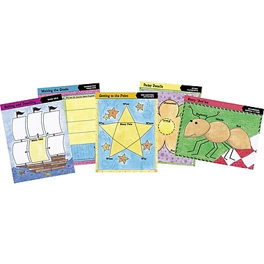 Barker Creek Graphic Organizer Chart Set 1, 17in. x 22in.
