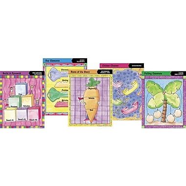 Barker Creek Graphic Organizer Chart Set 2, 17in. x 22in.