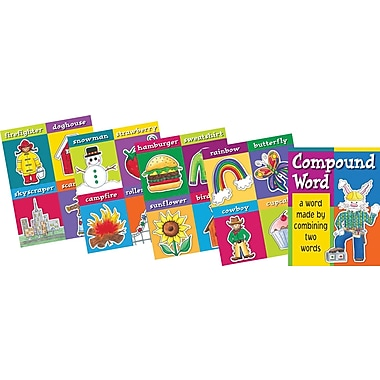 Barker Creek Compound Words Chart Set, 17in. x 22in.