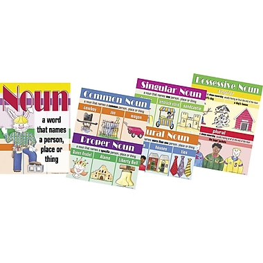 Barker Creek Nouns Chart Set, 17in. x 22in.