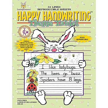 Happy Handwriting™ Theme Tablet, K - 2 Grade