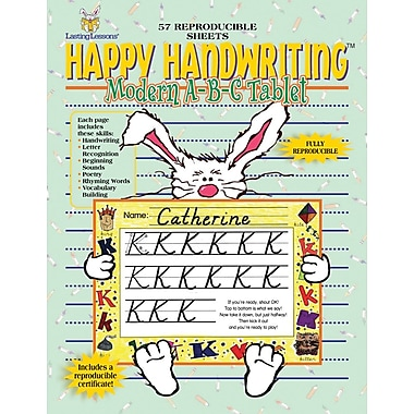 Happy Handwriting™ Modern ABC Tablet, K+ Grade