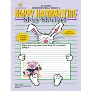 Happy Handwriting™ Story Starters 3rd - 4th Tablet, 3 - 4 Grade