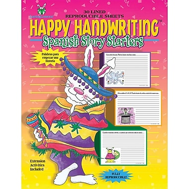 Happy Handwriting™ Spanish Story Starters 2 Tablet, 3+ Grade