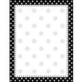 Barker Creek Black and White Dot Stationery