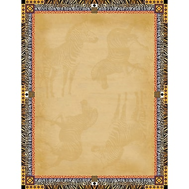 Barker Creek Africa Stationery Decorative Paper 8.5
