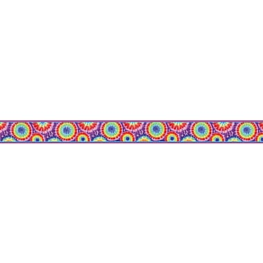 Barker Creek Tie-dye Border, 35in. L x 3in. W