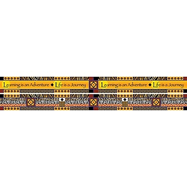 Barker Creek Double Sided Africa Trim, 35in. L x 3in. W