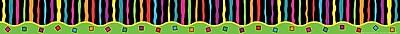 Barker Creek Neon Stripe Border 35 L x 3 W