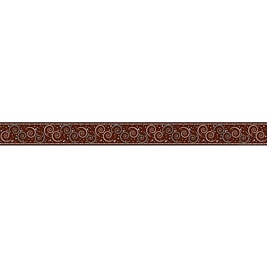 Barker Creek in.Hot to Dotin. - Swirl Border, 35in. L x 3in. W