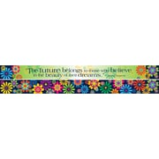 "Barker Creek Italy - Fiori Bellissimi Double Sided Border, 35"" L x 3"" W"
