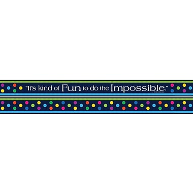 Barker Creek Italy - Punti Felici Double Sided Trim, 35in. L x 3in. W