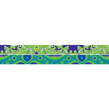 Barker Creek Fractals - Inland Waterways Double Sided Trim, 35in. L x 3in. W