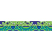 "Barker Creek Fractals - Inland Waterways Double Sided Trim, 35"" L x 3"" W"