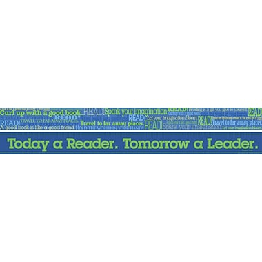 Barker Creek Word Wall - Read Double Sided Trim, 35in. L x 3in. W