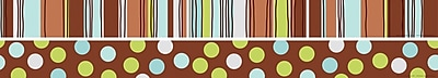 Barker Creek LL 972 35 x 3 Straight Ribbon By The Yard Double Sided Trim Multicolor